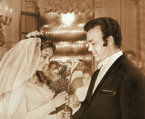Вы никогда не видели эти снимки: свадебные фотографии советских звезд