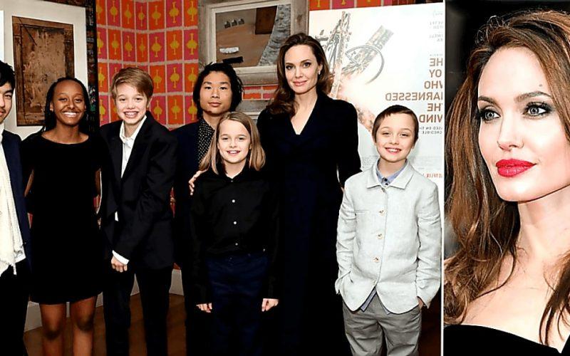 Анджелина Джоли хочет усыновить 7-ого ребенка