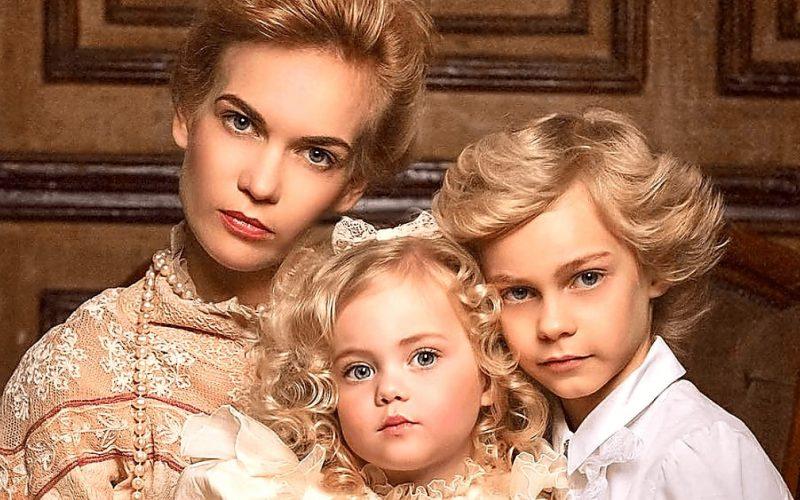 Удивительная внешность! Дети Екатерины покоряют модельный бизнес своей красотой