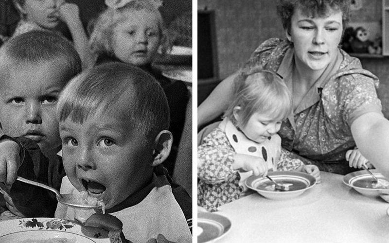 Советское детство: что ели дети в СССР