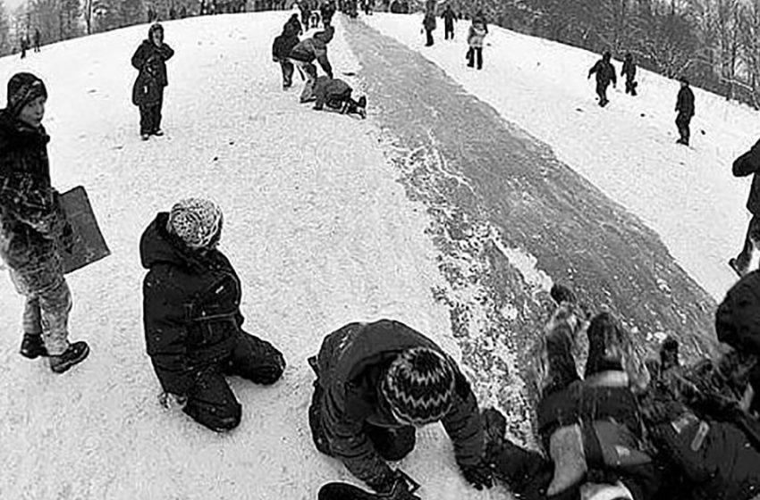 Зима в СССР: десять снимков из нашего прошлого, которые покажут, что тогда было безумно весело