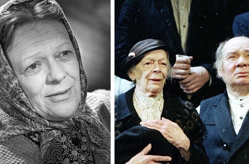 Татьяна Пельтцер: 10 интересных фактов о легендарной советской артистке