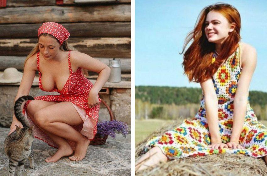 Без макияжа, фотошопа и фильтров: фотографии провинциалок, которые украдут ваше сердце