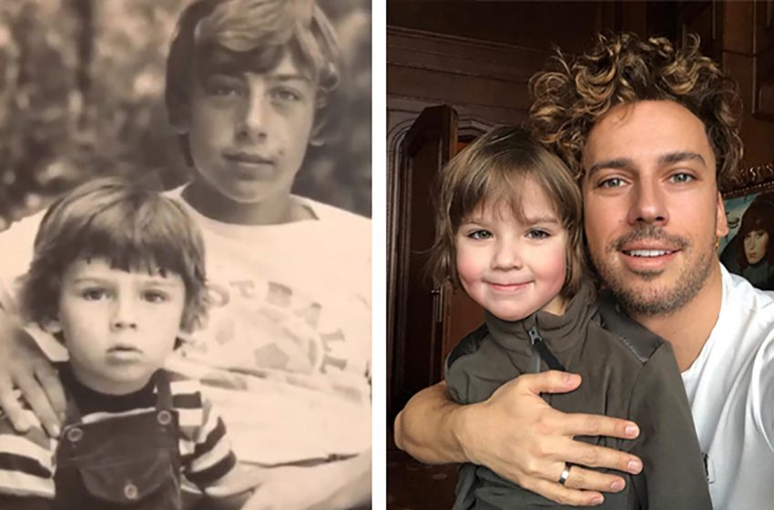 Сила генов: сравнение фотографий звезд и их детей в одном возрасте