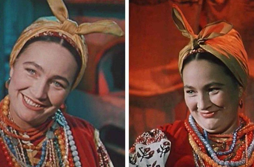 Людмила Хитяева: как она выглядела в молодости и как она превращалась в красотку