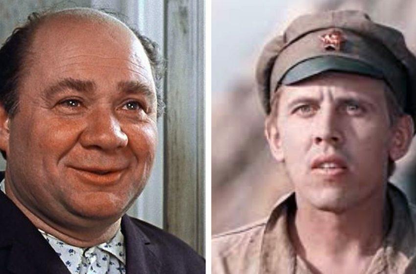 Актеры из нашего советского детства. Какими они были в молодости?