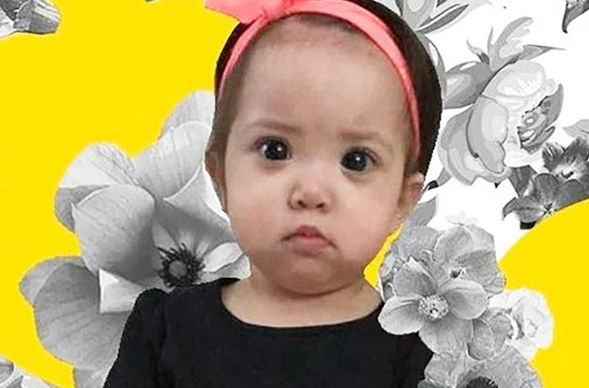 Как выглядит малышка Мелани с бездонными «мультяшными» глазами
