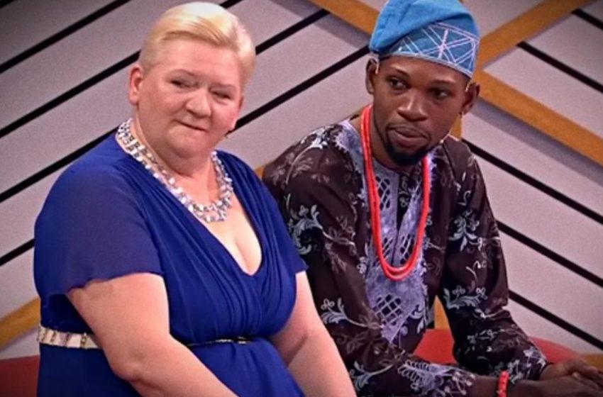52-летняя женщина стала женой африканца и родила от него близнецов