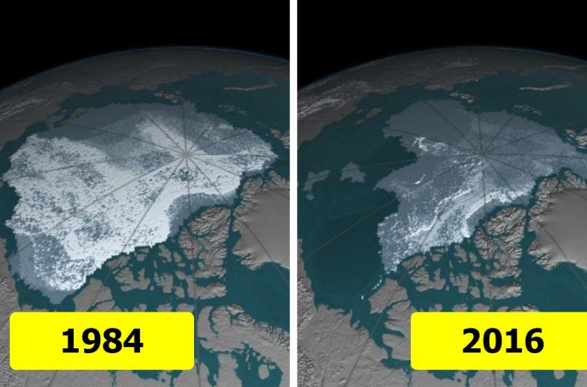 «10 шокирующих снимков со спутников от НАСА»: какие изменения происходят на поверхности нашей планеты