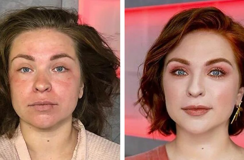 «Только косметика и никакого фотошопа»: фотографии девушек до и после посещения профессионального стилиста