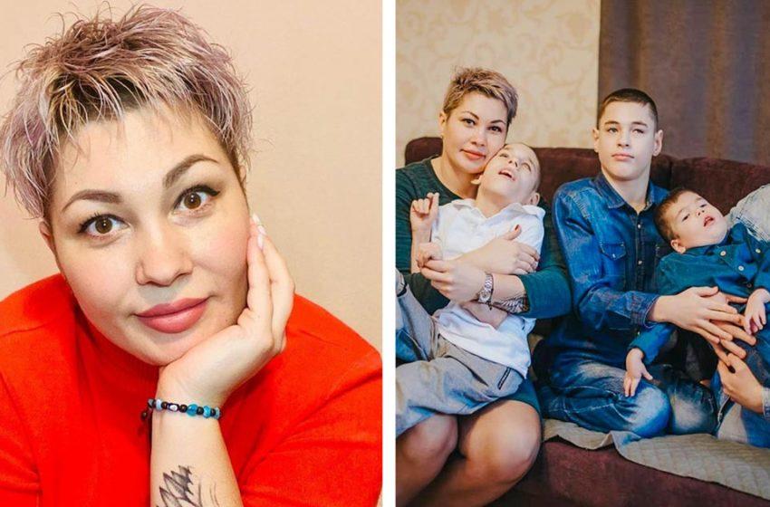 «Настоящая мать — героиня»: Как живет со своими особенными детьми Оксана Давлетова