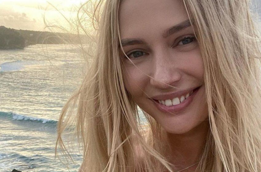 «Бразильские формы»: Наталья Рудова в летнем наряде оконфузилась на пляже