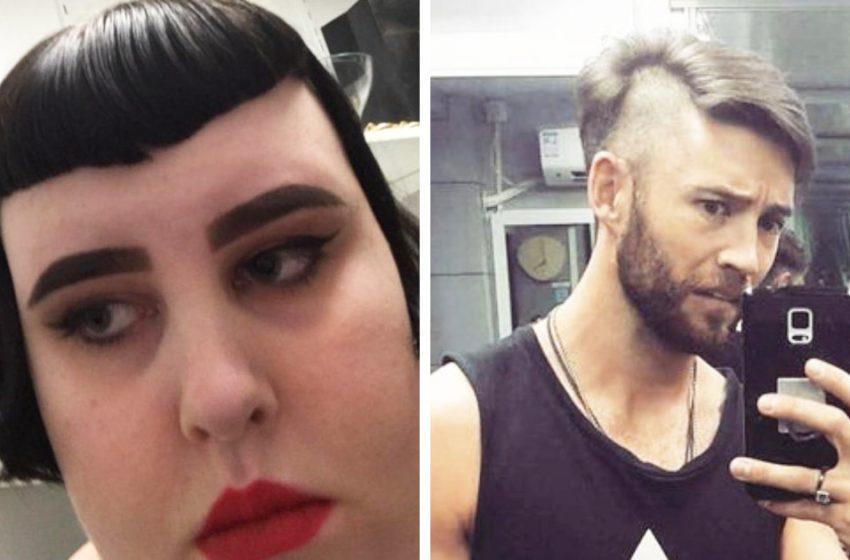 15 случаев, когда парикмахер решил попробовать что-то новенькое со своими клиентами